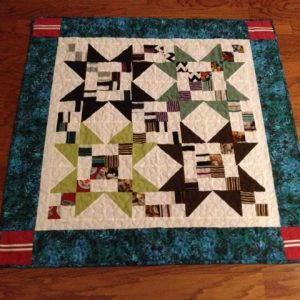 Memory Quilt Wall Hanging