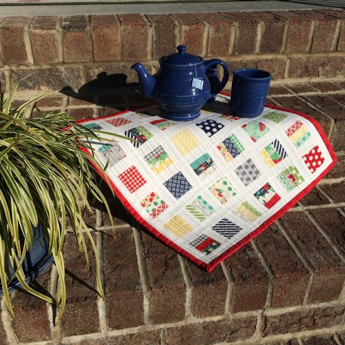Make Modern Magazine Bricks and Stones Mini Quilt Pattern