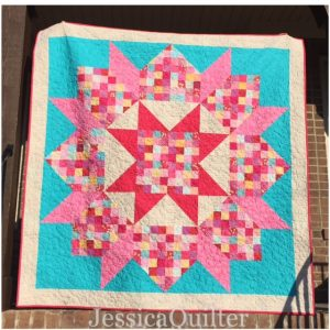 Patchwork Swoon Wedding Quilt